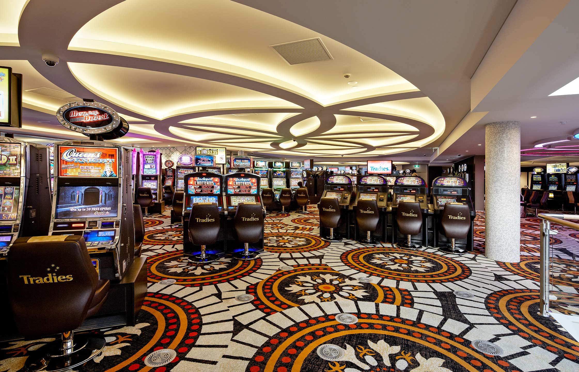 Tradies Gaming Floor